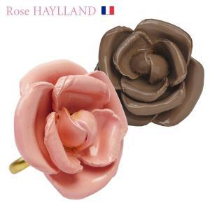 指輪 レディース レディス ローズリング フラワーモチーフ ナチュラルリング フリーサイズ フランスブランド ROSE HAYLLAND 野ばら brand|carron