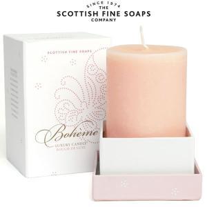 アロマキャンドル ボエム SCOTTISH FINE SOAPS 300g|carron