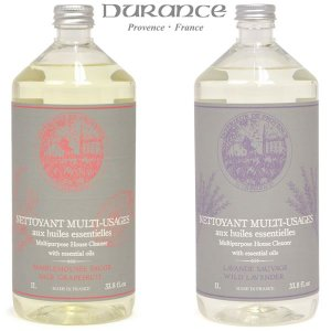 マルチホームクリーナー 住居用 液体洗剤 フランス DURANCE アロマ エッセンシャルオイル配合 1L|carron