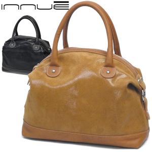 ボストンバッグ レディース レディス 通勤 ブランド おしゃれ 本革 ハンドバッグ 艶レザー シャイニーコーティング イタリア製 innue マルタ brand bag|carron