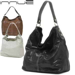 ワンショルダーバッグ レディース レディス 通勤 大容量 艶スエード 本革レザー シャイニーコーティング A4 イタリアブランド innue マリアナ brand bag|carron
