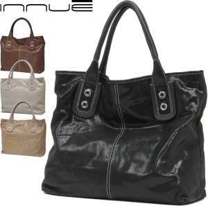 トートバッグ レディース レディス 通勤 艶レザー シャイニーコーティング A4 イタリアブランド innue エルナ brand bag|carron