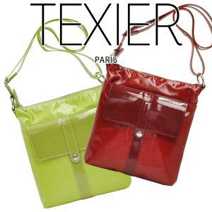 ショルダーバッグ レディース レディス 薄マチ 旅行 軽量 斜め掛け フランスブランド TEXIER テキシエ brand bag|carron