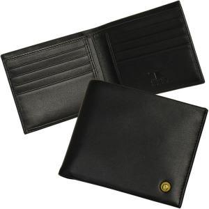 二つ折り財布 カード入れ カードケース メンズ Men's イタリア TOSCA BLU UOMO 横開き 本革レザー|carron