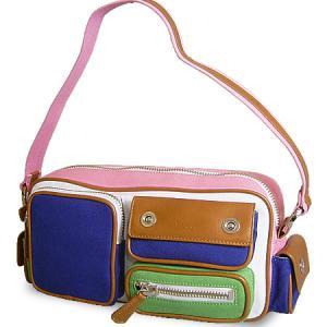 ショルダーバッグ レディース レディス キャンバス 帆布 イタリア製 TOSCA BLU グレナダ bag|carron