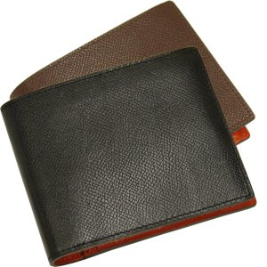 二つ折り財布 メンズ Men's 革財布 レディース レディス チェルケスレザー SONNE 全4色|carron