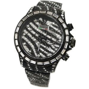ヴァベーネ 腕時計 VABENE ゼブラフェイス スワロフスキー クロノグラフ おしゃれ ファッションウォッチ メンズ Men's レディース レディス|carron