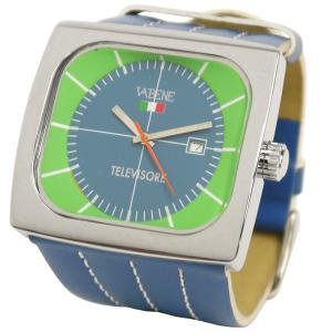メンズ ヴァベーネ 腕時計 TELEVISORE VABENE イタリアブランド brand レザーベルトウォッチ Men's|carron