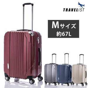 協和 TRAVELIST キャパリエ スーツケース ジッパー...