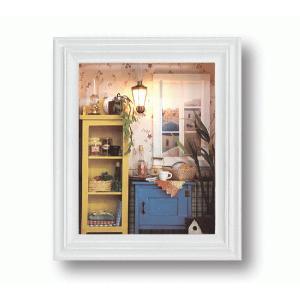 壁掛けドールハウスキット 朝の情景 DHN-09 アルテ carrot