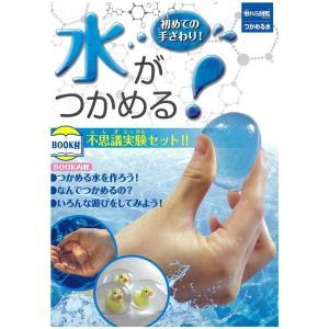 不思議実験セット 初めての手ざわり!水がつかめる 触れる図鑑 つかめる水キット ZH-ZUK-090...