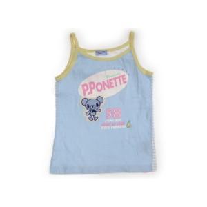 ポンポネット pomponette タンクトップ・キャミソール 140サイズ 女の子 子供服 ベビー服 キッズ|carryon