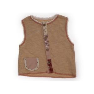 ビケット Biquette ベスト 80サイズ 女の子 子供服 ベビー服 キッズ
