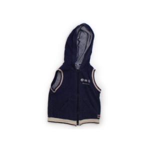 ブランド:Moujonjon(ムージョンジョン) カテゴリー:ベスト サイズ:90サイズ 色:紺 状...