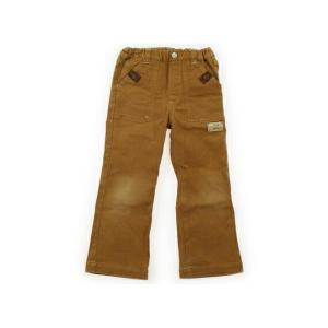 ブランド:mikiHOUSE(ミキハウス) カテゴリー:パンツ サイズ:110サイズ 色:茶、ロゴマ...