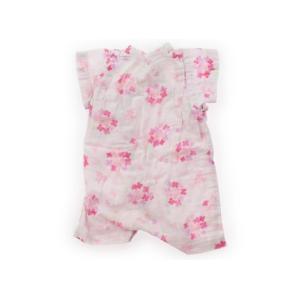 ミキハウス mikiHOUSE 浴衣・甚平・季節のイベント 50サイズ 女の子 子供服 ベビー服 キッズ|carryon|02