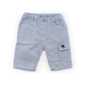 ブランド:Double B(ダブルB) カテゴリー:ハーフパンツ サイズ:90サイズ 色:水色白スト...