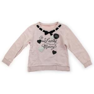 メゾピアノ mezzopiano トレーナー・プルオーバー 140サイズ 女の子 子供服 ベビー服 キッズ|carryon