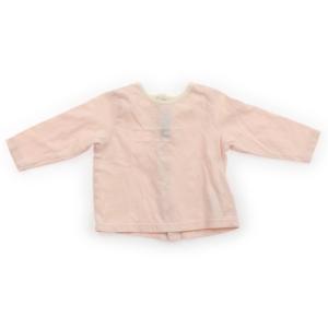 9447b862e0bf6 バーバリー BURBERRY カーディガン 60サイズ 女の子 子供服 ベビー服 キッズ