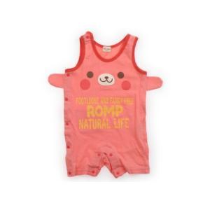 ブランド:Kids Zoo(キッズズー) カテゴリー:カバーオール サイズ:80サイズ 色:ピンク ...