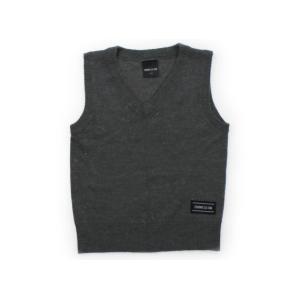 ブランド:COMME CA ISM(コムサイズム) カテゴリー:ベスト サイズ:110サイズ 色:グ...