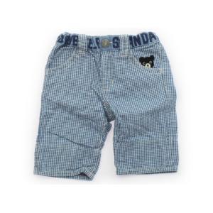 ブランド:Double B(ダブルB) カテゴリー:パンツ サイズ:90サイズ 色:水色チェック・黒...