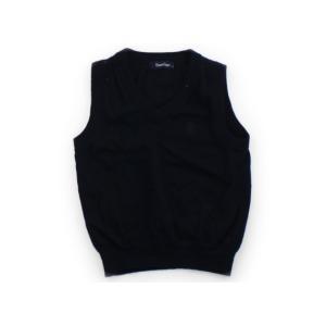 ブランド:familiar(ファミリア) カテゴリー:ベスト サイズ:110サイズ 色:紺 状態:★...