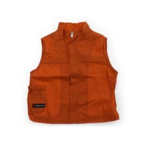 ブランド:COMME CA ISM(コムサイズム) カテゴリー:ベスト サイズ:80サイズ 色:橙色...
