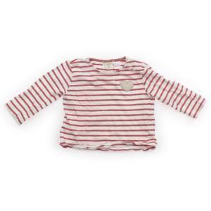 ブランド:ZARA(ザラ) カテゴリー:Tシャツ・カットソー サイズ:80サイズ 色:白、赤のボーダ...
