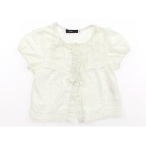 ブランド:Caldia(カルディア) カテゴリー:カーディガン サイズ:100サイズ 色:白地にフリ...