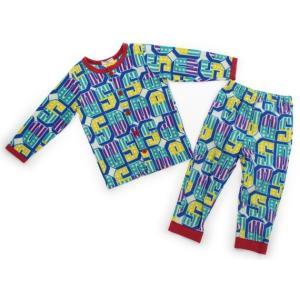 ブランド:ampersand(アンパサンド) カテゴリー:パジャマ サイズ:90サイズ 色:エメラル...