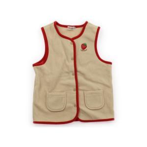 ミキハウス miki HOUSE ベスト 120サイズ 女の子 子供服 ベビー服 キッズ|carryon