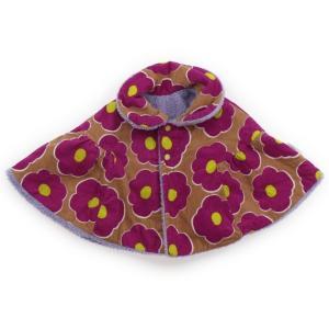 ブランド:Caldia(カルディア) カテゴリー:ポンチョ サイズ:70サイズ 色:ピンク花柄/薄紫...
