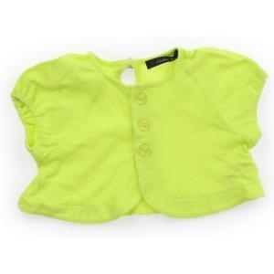 ブランド:Caldia(カルディア) カテゴリー:カーディガン サイズ:80サイズ 色:蛍光黄緑 状...