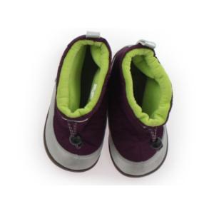 ブランド:ampersand(アンパサンド) カテゴリー:ブーツ サイズ:靴15cm〜 色:紫・シル...