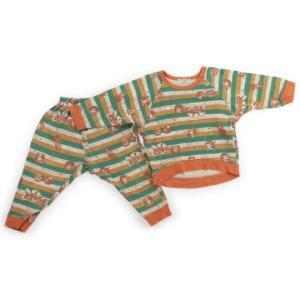 ブランド:ampersand(アンパサンド) カテゴリー:パジャマ サイズ:90サイズ 色:グリーン...