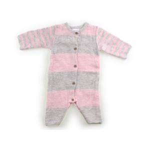 ブランド:NEXT(ネクスト) カテゴリー:カバーオール サイズ:50サイズ 色:ピンク、グレーのボ...