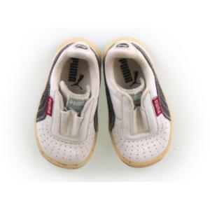 ブランド:PUMA(プーマ) カテゴリー:フラットシューズ・スリッポン サイズ:靴12cm〜 色:ホ...