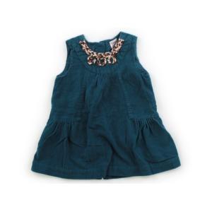ブランド:ZARA(ザラ) カテゴリー:ジャンパースカート サイズ:80サイズ 色:ターコイズグリー...