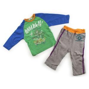 ブランド:ampersand(アンパサンド) カテゴリー:パジャマ サイズ:90サイズ 色:ライトグ...