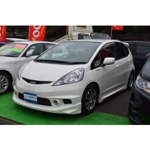 フィット 1.5 RS 5速車 ローダウン 無限エアロ ナビ|carsensor
