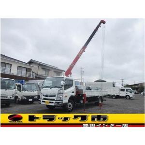キャンター 4段クレーン EXワイド 超超ロング ラジコン・超超ロング・積載3,6トン|carsensor