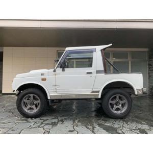 ジムニー 660 幌 CC 4WD エアコン無モデル ターボ 5MT レカロ