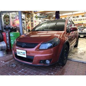 SX4 1.5XG 4WD オレンジSX4 4WD DVD HID スマートキー