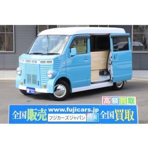 NV100クリッパー 移動販売車 キッチンカー フレンチバス仕様 後部新規架装 シンク