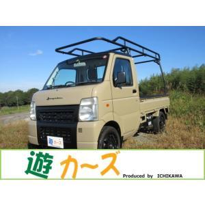 キャリイ 660 KU エアコン・パワステ 3方開 遊カーズカスタムスタイル 軽トラ