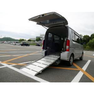 エブリイワゴン 車いす移動車 後部電動固定 福祉車両 8ナンバー 電動ウインチ スローパー