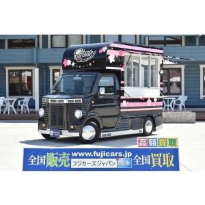 キャリイ 660 KCエアコン・パワステ 3方開 移動販売車 キッチンカー ケータリングカー