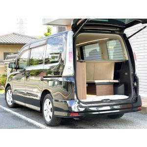 セレナ キャンピングカー 8ナンバー 新品架装 車中泊 トランポ キャンパー ベッドキット