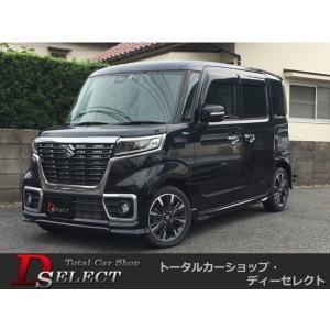 スペーシア 660 カスタム ハイブリッド XS 4WD 4WD新品ナビTV両電動スライドBカメLE...